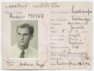 11.3.4. alternativ Identity Card Andreas Meyer 1946