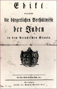 Emanzipationsedikt-1812