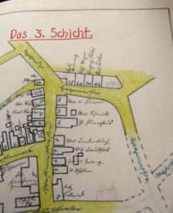 Lageplan Schicht 3