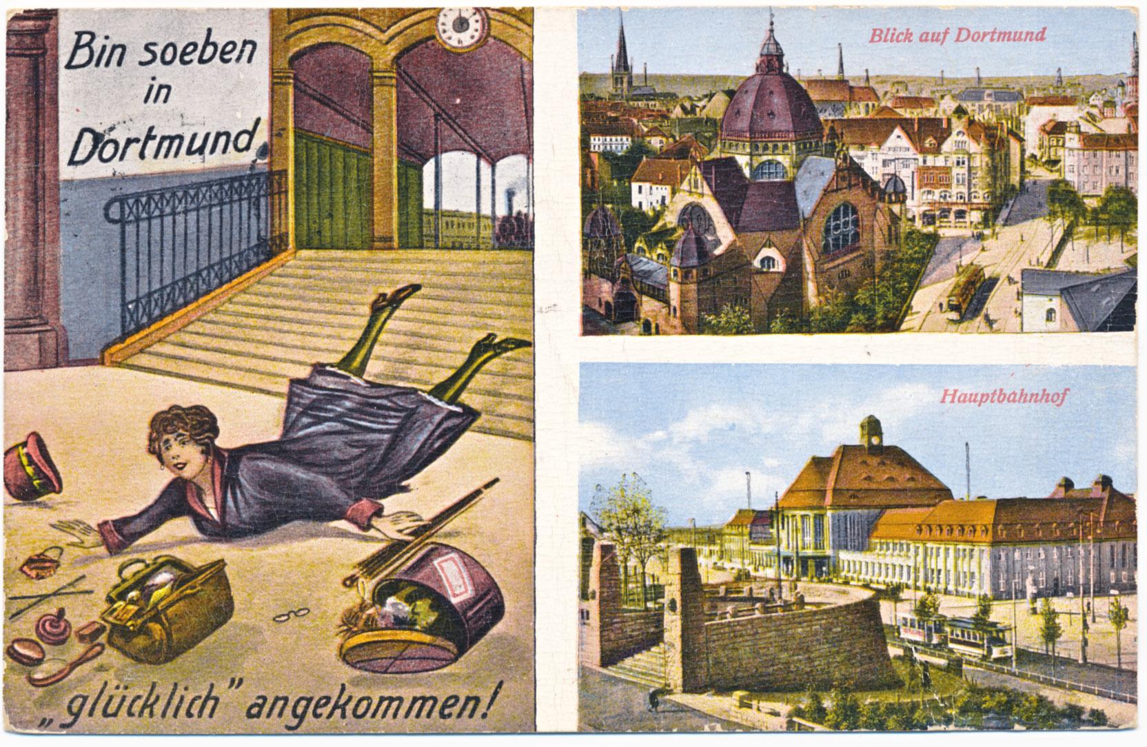 Postkarte Dortmund 1