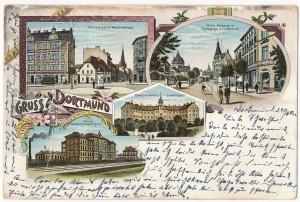 Postkarte Dortmund 8